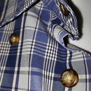 Nordstrom Shirts - Nordstrom Mens Plaid Short Sleeve Buttondown Shirt